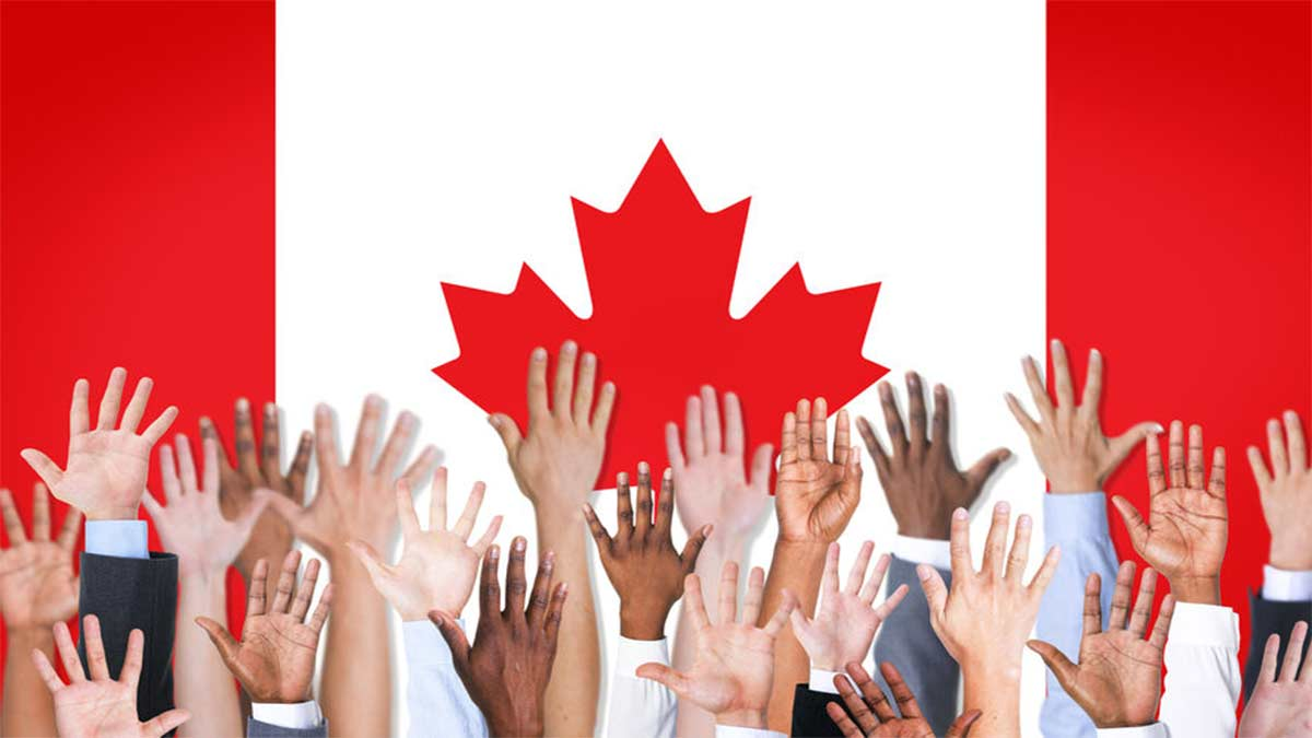 Pesquisa on-line com recém-chegados ao Canadá