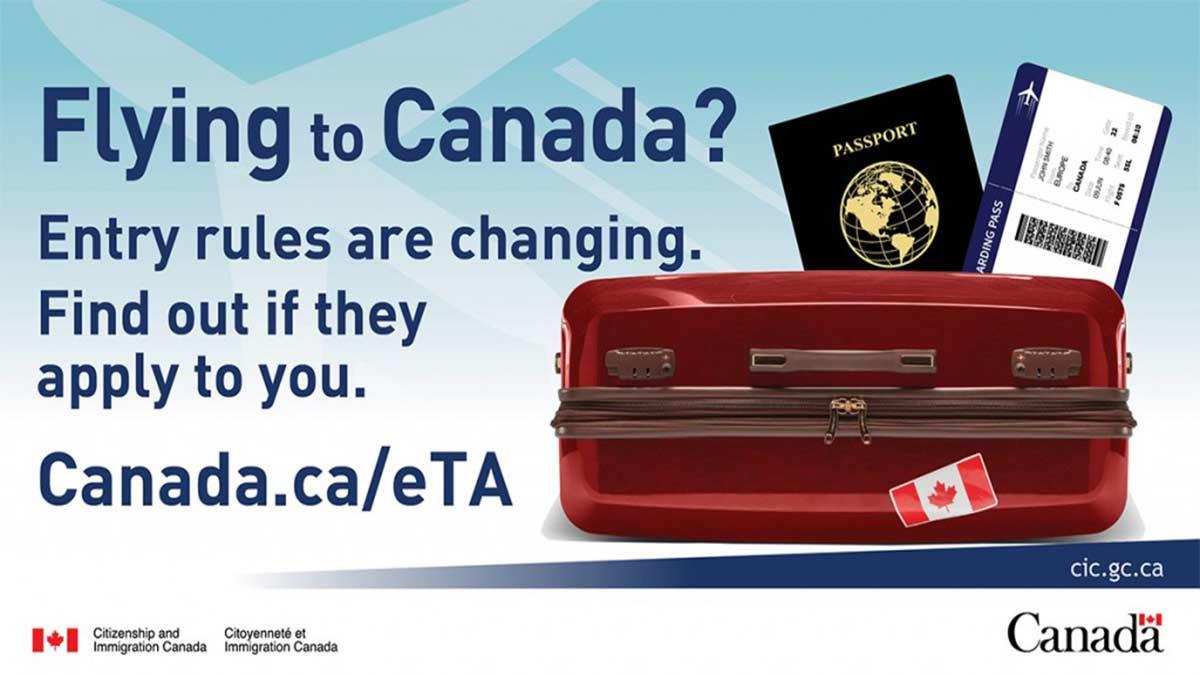 Celeridade e menor custo na emissão de vistos para o Canadá – eTA