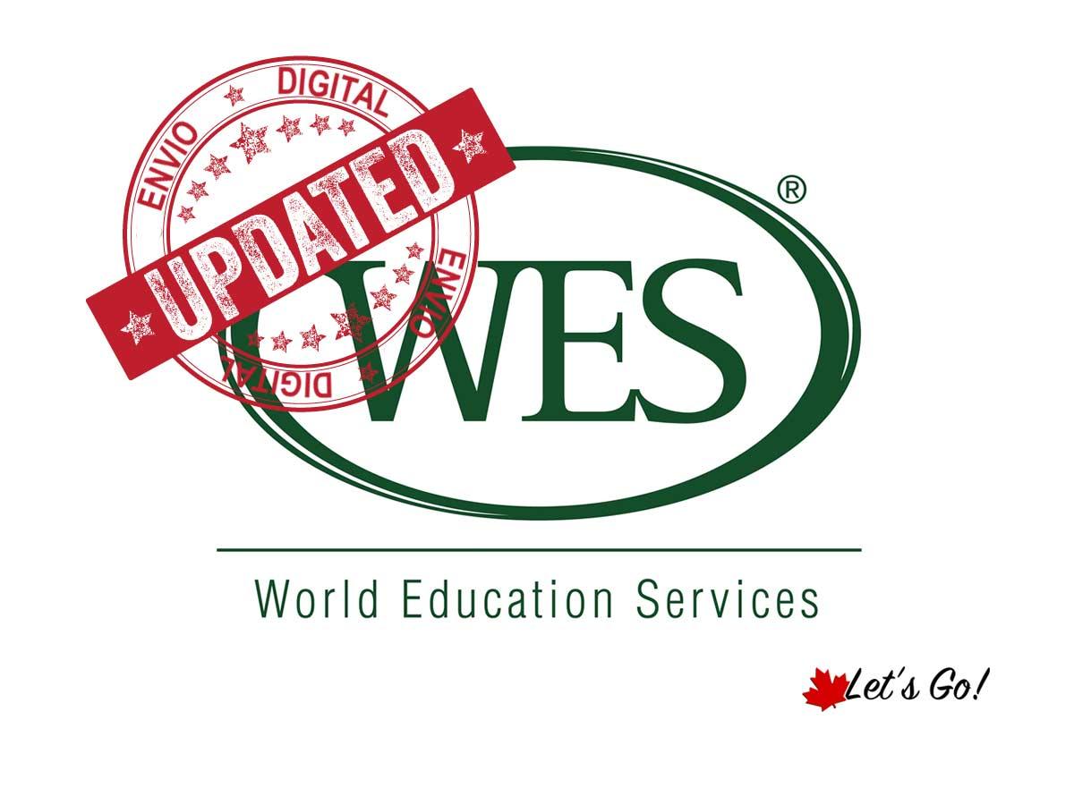 Envio digital de documentos para o WES