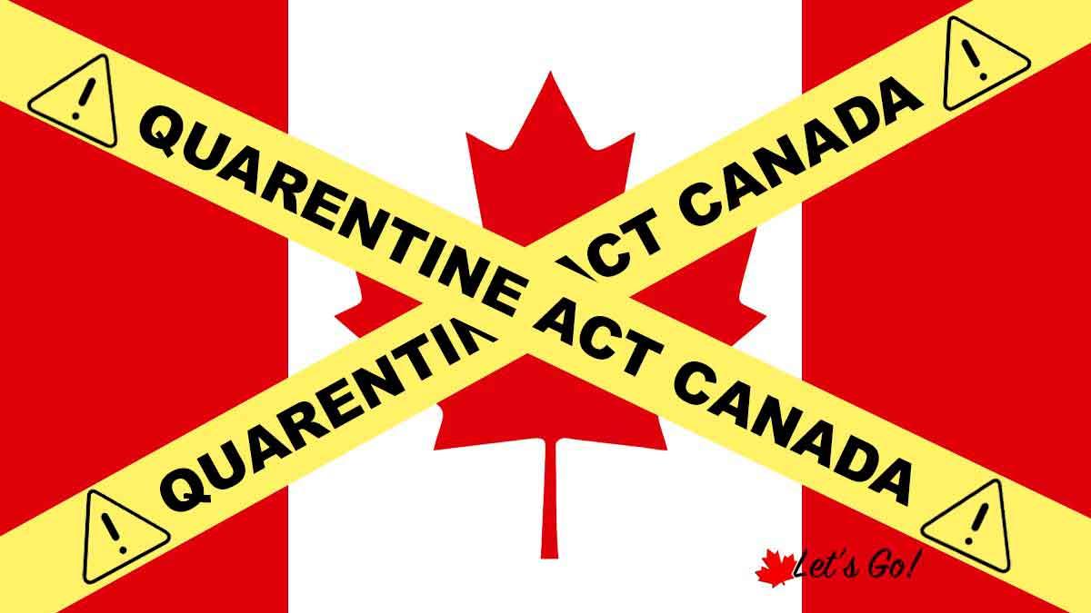 Lei de Quarentena no Canadá