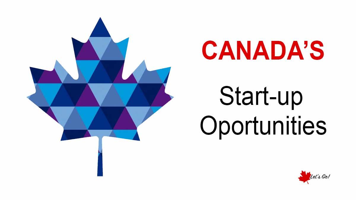 Ampliação para start-ups no Canadá