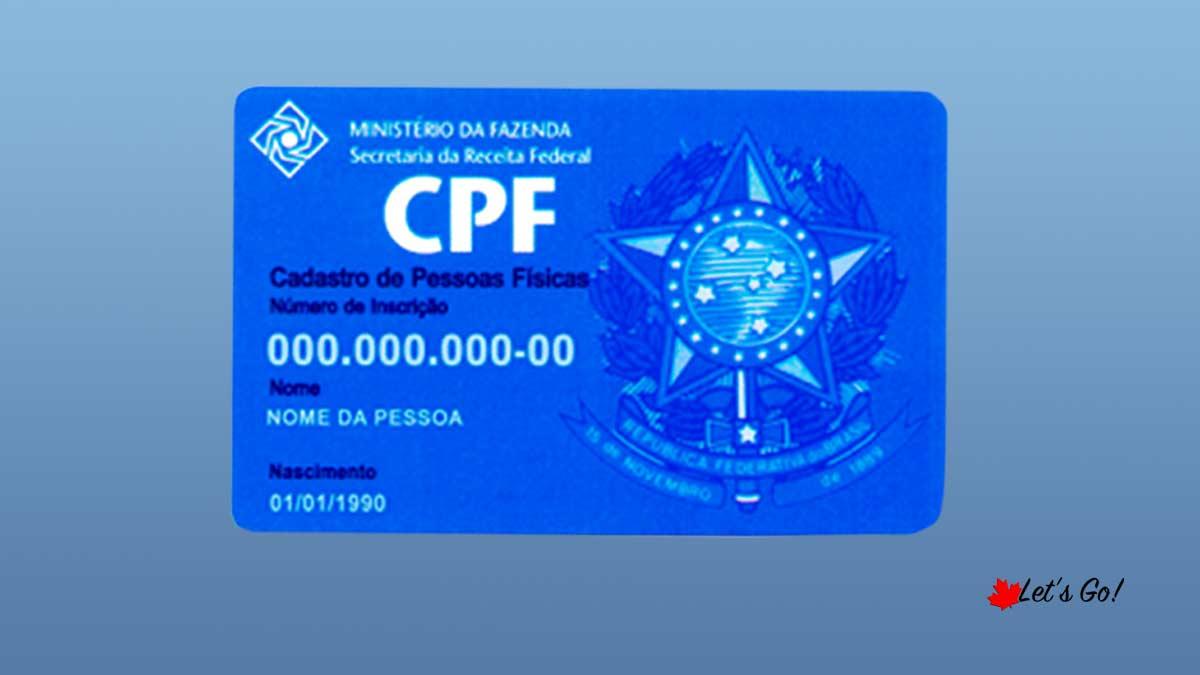 CPF e saída fiscal. O que acontece?
